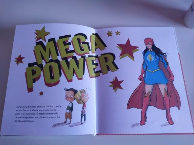 max y los superheroes