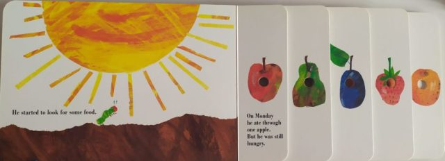 la ranita lectora the very hungry caterpillar