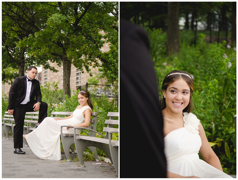 Corlears Hook Park | NY Wedding Photography by Lara Photography