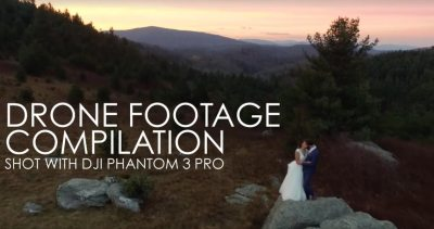 WEDDING VIDEO | DRONE FOOTAGE COMPILATION