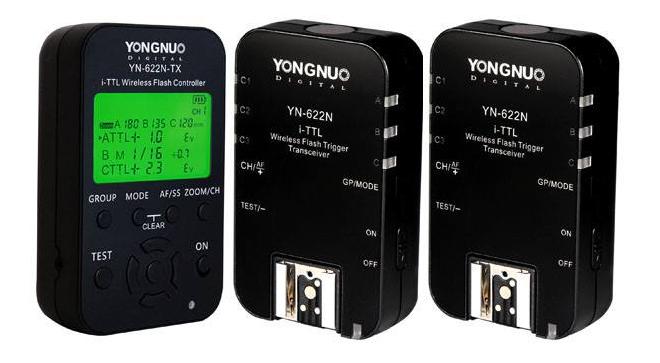Yongnuo YN-622ntx and YN-622n