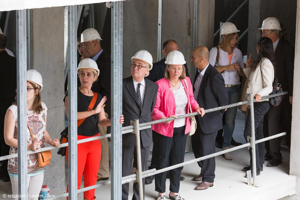 11.06.2014 ECL DRAPEAU – VISITE DU MAIRE