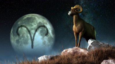 l'ariete e le sue lune