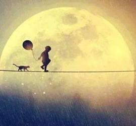 per capire i bambini guardiamo la luna