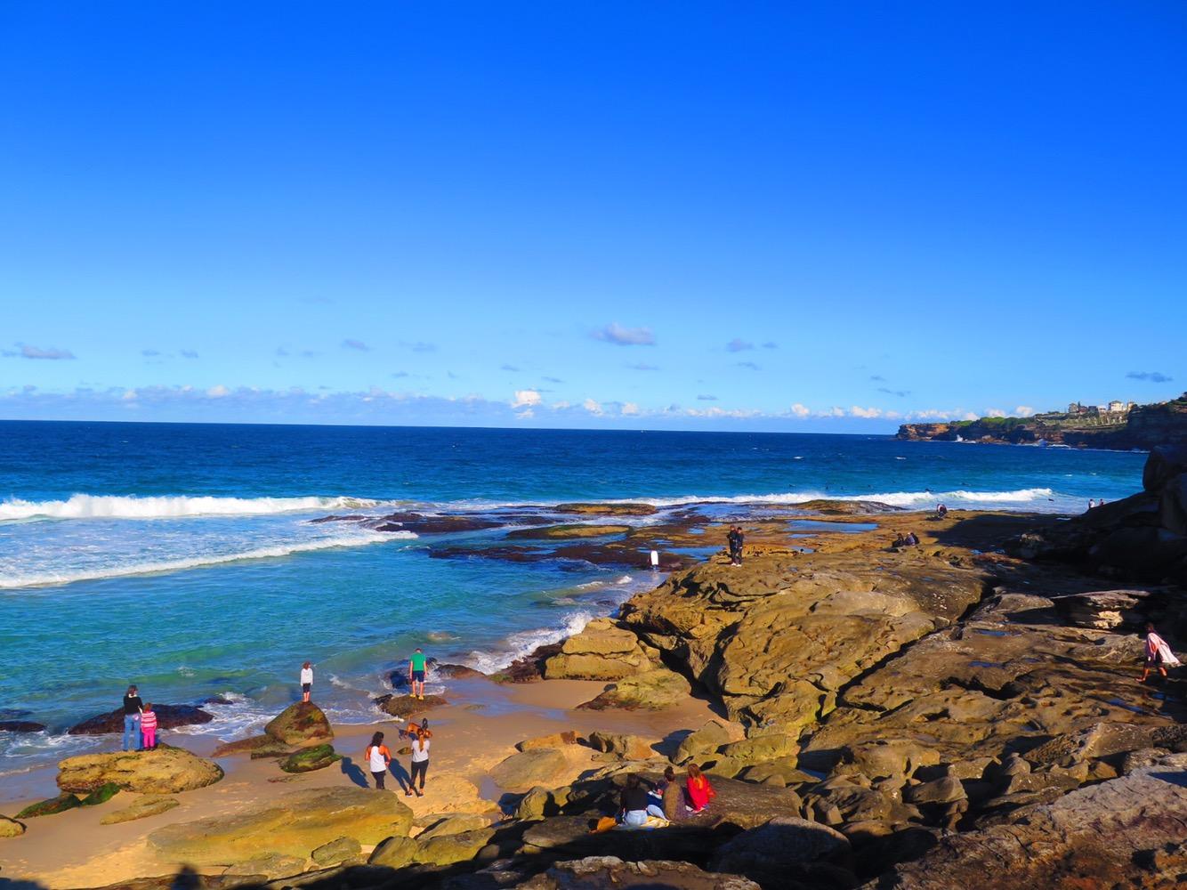 Bondi cliff walk Lara Lain