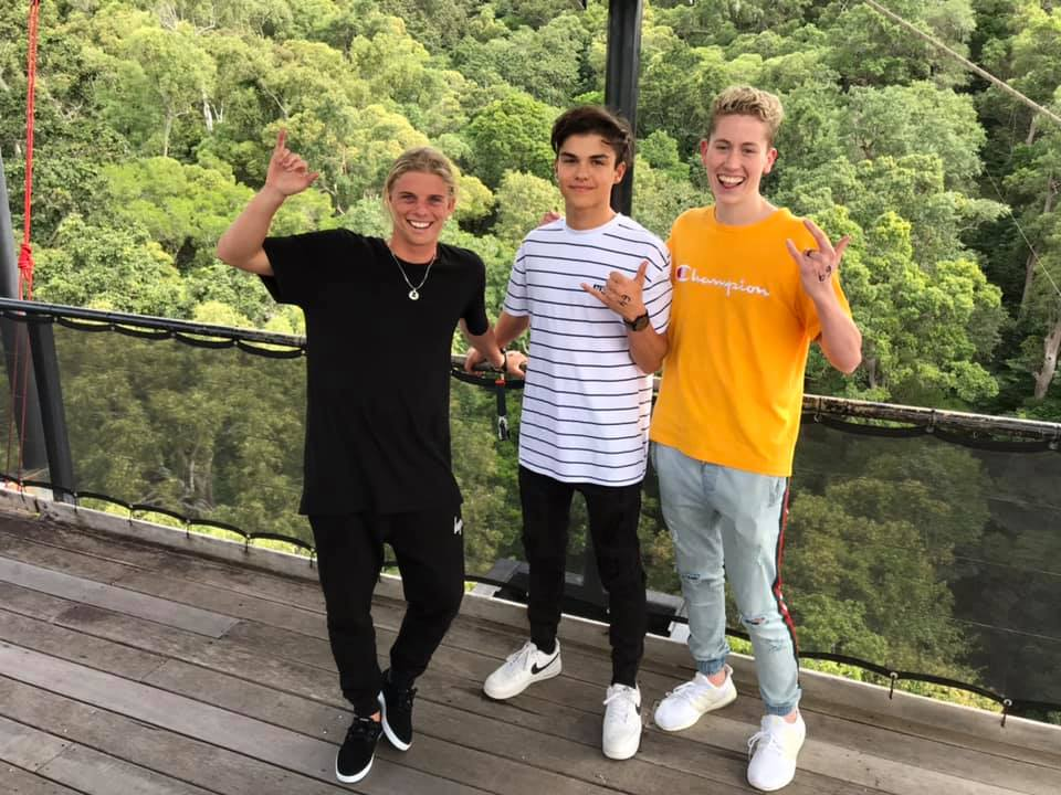 Being influenced by influencers – behind the scenes with Alex Hayes, Harvey Petito & Morgan Hipworth