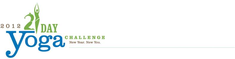 21 Day Yoga Challenge (3/6)