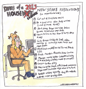 Diary of a Housewife 2015- New Years Resolutions