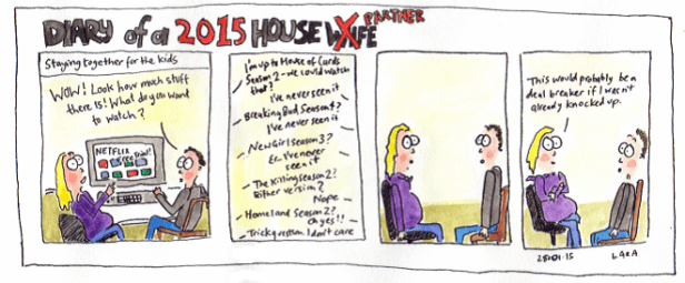 Diary of a Housewife - Netflixs destructive influence