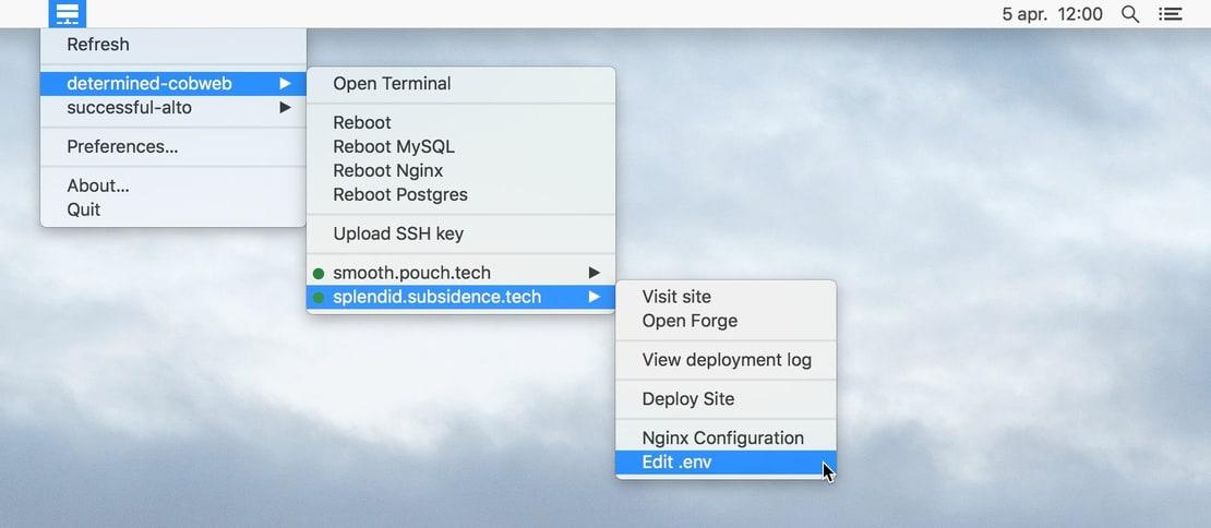 F-Bar for Mac 2.0.2 注册版 - Laravel Forge服务器管理工具