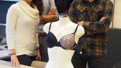 Sujetador inteligente para detectar cáncer de mama.
