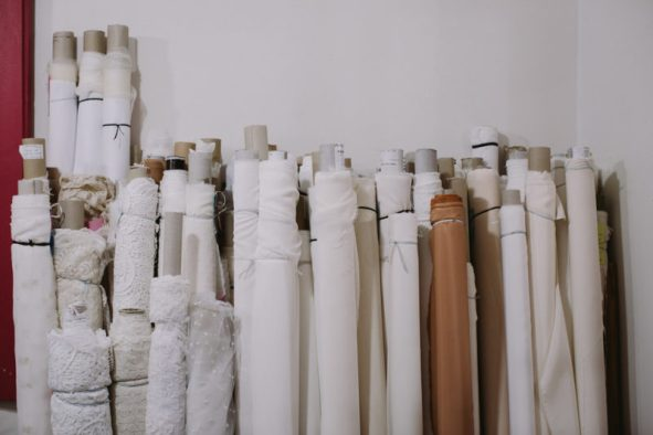 Fabrics-dresses-wedding-measure