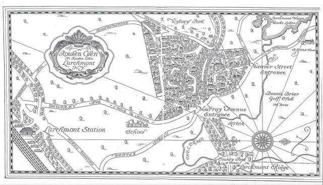 map of rouken glen