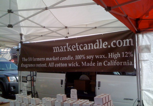 Farmers Market Soy-Wax Candle
