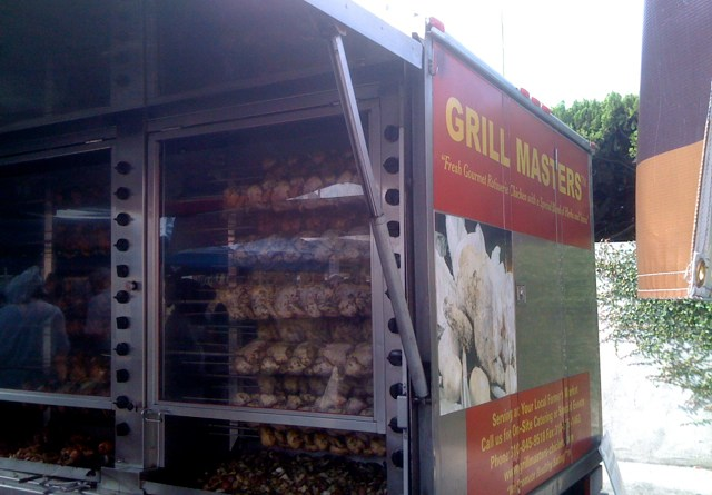 Grill Masters Rotisserie Truck in Larchmont Village