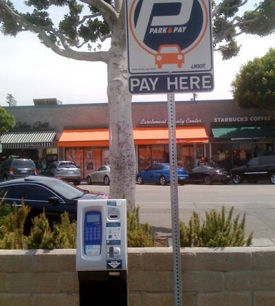 Park and Pay in Larchmont Village