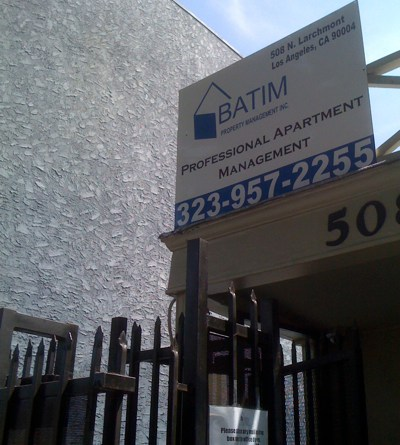 BATIM Property Management in Larchmont Village