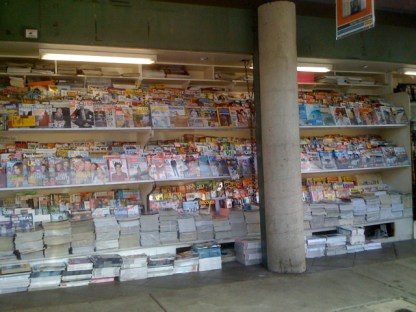 Magazines at Above the Fold in Larchmont