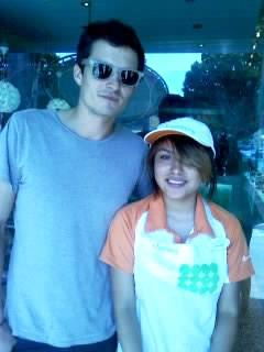 Orlando Bloom at Pinkberry