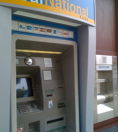 California National Bank ATM in Larchmont Village