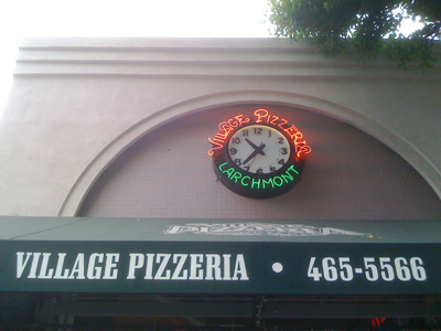 Village Pizzeria: Larchmont Village