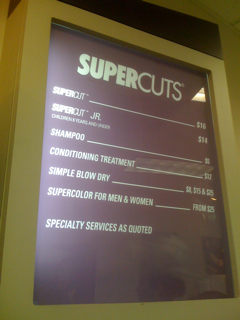 Supercuts employs successful and extremely qualified employees, equipped to satisfy every customer who walks through the door. Rather than other salons, however, Supercuts focuses on making the prices as cheap as possible. When comparing Supercuts prices to other salons, the difference is clear.