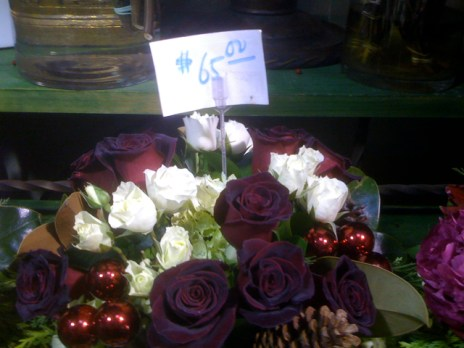 Holiday Roses at Larchmont Village Florist