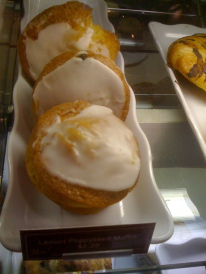 Lemon Poppyseed Muffins at The Coffee Bean