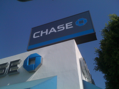 Chase Bank in Larchmont Village, Los Angeles