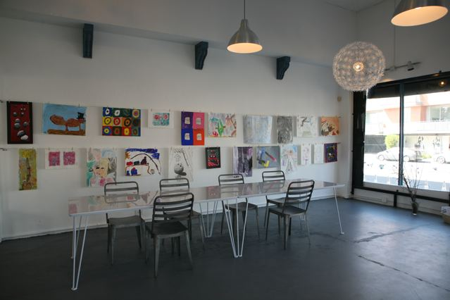 Inside the Art Works Studio on Larchmont
