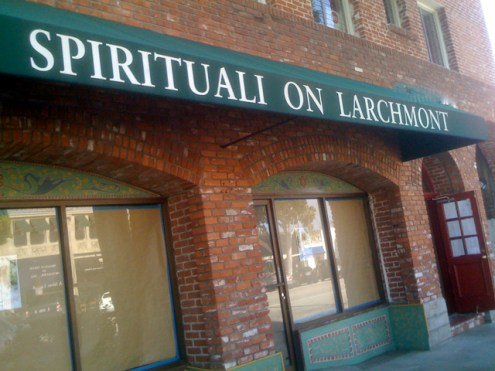Spirituali at 120 Larchmont