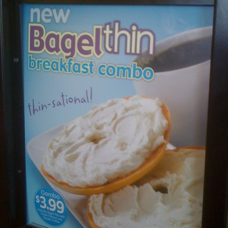 Bagel Thin Breakfast Combo