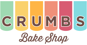 New Logo of Crumbs Bakeshop