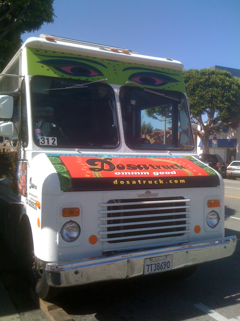 Dosa Food Truck in Larchmont Village!