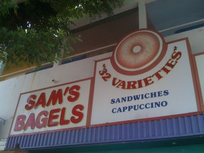Sam's Bagels in Larchmont Village