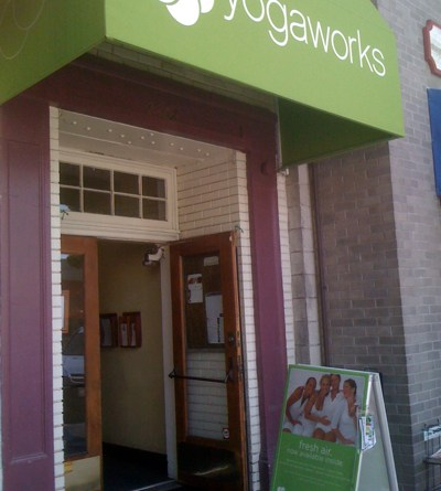 YogaWorks Center in Larchmont Village, Los Angeles