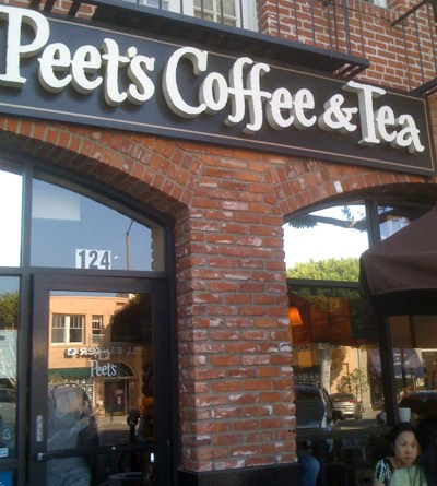 Peet's Coffee on Larchmont