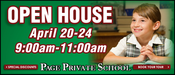 Open House at Page Private School