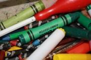 Half term crayons