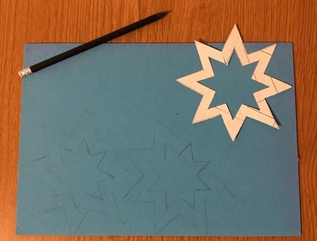 Estrela na árvore de Natal: Master Class 4 8