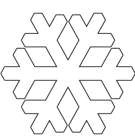 Пушистые снежинки своими руками   красивое украшение для Нового года pushistaya snezhinka 35