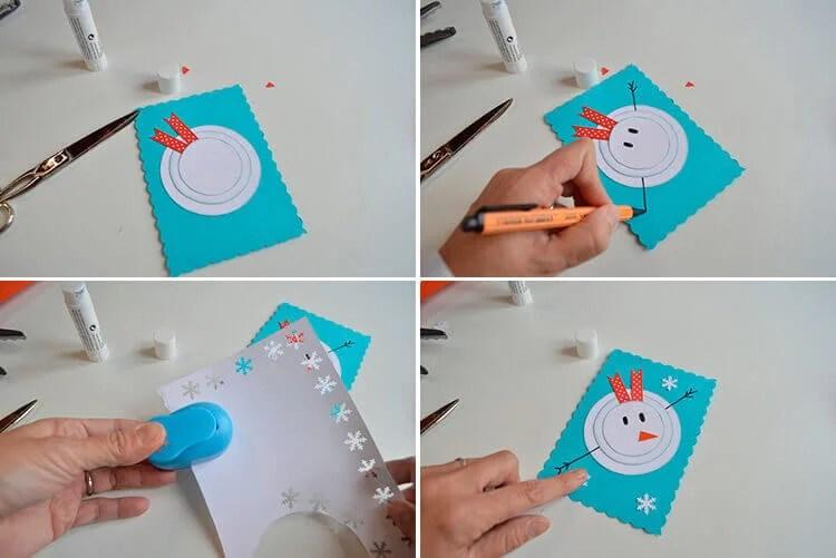 Открытки на Новый год своими руками: простые и оригинальные поделки в садик и школу 13 16