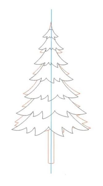 Рисунки на новогоднюю тематику: что можно нарисовать на Новый год risunki na novogodnyuyu temu 20