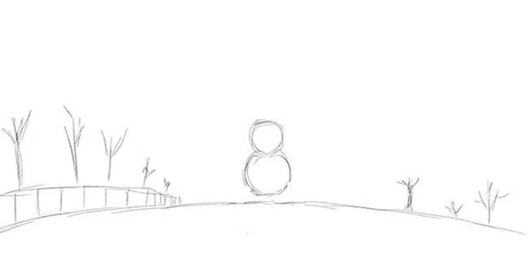 Dessins pour sujets de Noël: Que peut-on dessiner sur la nouvelle année Risunki Na Novogodnyuyu Temu 35
