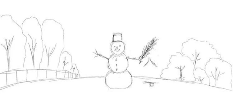 크리스마스 주제용 도면 : 새해에 그려 질 수있는 것은 risunki novodnyuyu temu 38