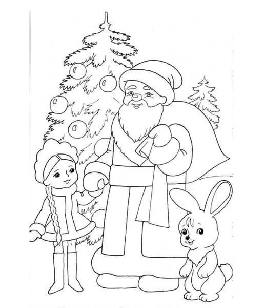 크리스마스 주제용 도면 : 새해에 그려지는 것은 risunki novododnyuyu temu 51