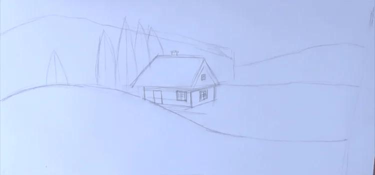 크리스마스 주제용 도면 : 새해를 위해 무엇을 그릴 수 있습니까? Risunki NovoDnyuyu Temu 88