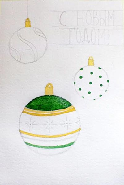 Рисунки на новогоднюю тематику: что можно нарисовать на Новый год risunki na novogodnyuyu temu 97
