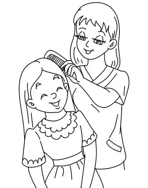 Çocukların Anneler Günü'ndeki Çizimleri: Paper'da Anne İçin Sevginizi Ekspres Risunok Na Den Materi 19