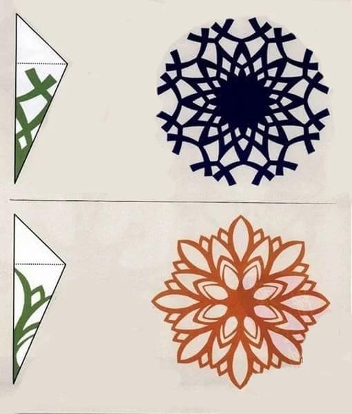 Жаңа жылға арналған әдемі түпнұсқа снежинкалар: өз қолдарыңызды жасаңыз, фотосуреттері бар шаблондар Snezhinki IZ bumagi svoimi rukami 96